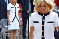 Brigitte Macron w miniówce na obchodach Dnia Bastylii