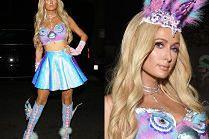 """Paris Hilton pozuje w przebraniu """"seksownego Furby""""..."""