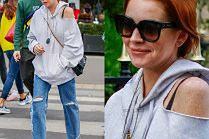 Lindsay Lohan lansuje modę na podarte bluzy za 3 tysiące złotych