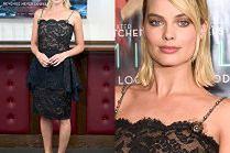 Urocza Margot Robbie pozuje w koronkach od Chanel