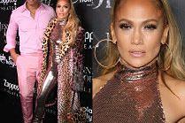 Jennifer Lopez chwali się wyczuciem stylu na imprezie w Las Vegas