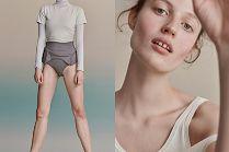 Eteryczna Julia Banaś reklamuje ekologiczne ubrania polskiej marki