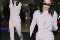 Kendall Jenner dramatycznie opuszcza lotnisko w piżamie za 20 tysięcy złotych