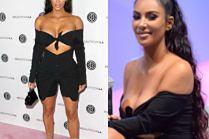 Uciekające piersi Kim Kardashian w Los Angeles