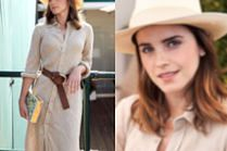 Piegowata Emma Watson reklamuje Ralpha Laurena na Wimbledonie
