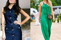 Prosta sukienka na lato w stylizacjach celebrytek