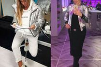 Jakie srebrne kurtki wybierają celebrytki - 5 inspiracji