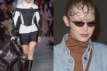 Trendsetterka Gigi Hadid poszła do restauracji z wzorkami na czole