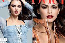 """""""Drapieżna"""" Kendall Jenner pozuje dla rosyjskiego """"Vogue'a"""""""