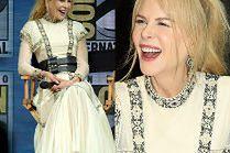 Rozbawiona Nicole Kidman promuje film na Comic Conie