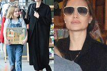 Szczęśliwa Angelina Jolie zabrała na zakupy 10-letnią córkę