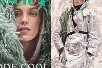 """Anja Rubik walczy z hipotermią na łamach niemieckiego """"Vogue'a"""""""