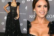 Jessica Alba zachwyca na charytatywnej gali w Los Angeles