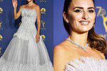 Zjawiskowa Penelope Cruz pozdrawia z gali Emmy