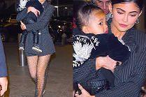 Kylie Jenner chwali się wyczuciem stylu w drodze na kolację ze Stormi