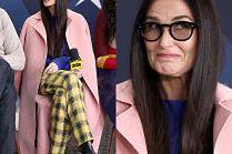 Kolorowa Demi Moore pozdrawia z festiwalu Sundance