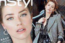 Zamyślona Amber Heard pozuje z otwartymi ustami