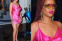 Rihanna chwali się nowymi warkoczykami i halką własnego projektu