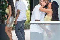 Zakochani Kim Kardashian i Kanye West obściskują się w nowym apartamencie