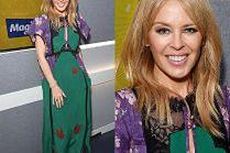 Coraz młodsza Kylie Minogue pozuje w sukience za 4 tysiące