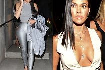 Wylansowane Kim i Kourtney Kardashian podbijają Hollywood