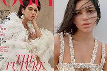"""Zmęczona Dua Lipa podpiera głowę na okładce brytyjskiego """"Vogue'a"""""""