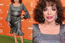86-letnia Joan Collins olśniewa na imprezie w londyńskim teatrze