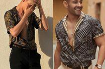 Letnie koszule w stylu etno - stylizacje celebrytów