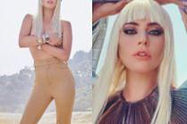 """Lady Gaga tarza się po plaży na okładce amerykańskiego """"Elle"""""""