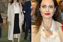 Dobroduszna Angelina Jolie walczy o pokój w klasycznej stylizacji