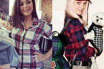 Jakie koszule flanelowe wybierają celebrytki?