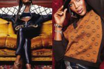 """Naomi Campbell wozi się po Harlemie w sesji dla """"Essence Magazine"""""""
