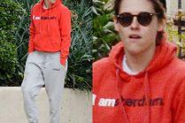 Kristen Stewart wypoczywa po lansie na pokazie Chanel
