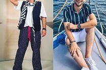 Najmodniejsze ubrania w marynarskim stylu - 5 stylizacji celebrytów