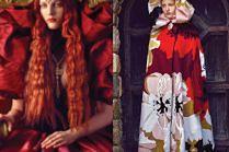 """Julia Banaś jako Królowa-Dziewica w amerykańskim """"Harper's Bazaar"""""""