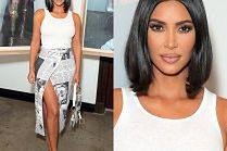 Drętwa Kim Kardashian niemrawo pozuje na promocji dżinsów
