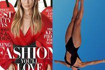 Jennifer Lopez ćwiczy skoki do wody w nowej sesji