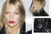 """Zaspana Kate Moss puszcza dymka w sesji dla """"Self Service"""""""