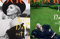 """Madonna na okładce włoskiego """"Vogue'a"""" wyprodukowanej przez Polaków"""