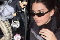 """Wężowa Kendall Jenner """"wypełza"""" na paryskie ulice skąpana w blasku fleszy"""