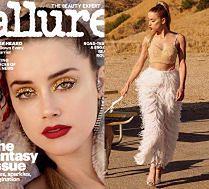 Amber Heard pozuje z kryształkami na powiekach