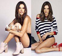Seksowna Alessandra Ambrosio kusi w reklamie butów