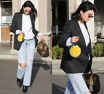 #TRENDY: Kendall Jenner w dżinsach z dziurami