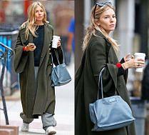 #TRENDY: Sienna Miller w długim płaszczu
