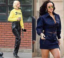 Najciekawsze uliczne stylizacje tygodnia: Mielcarz, Rihanna, Robbie...