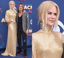 Złota Nicole Kidman wspiera męża na imprezie country