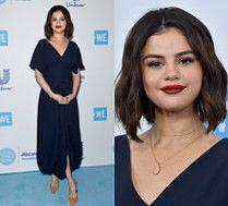 Skromna Selena Gomez na imprezie charytatywnej