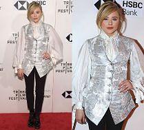 Chloe Moretz chwali się wątpliwym wyczuciem stylu