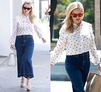 #TRENDY: Reese Witherspoon w koszuli w serduszka