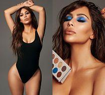 Rozebrana Kim Kardashian zachęca do zakupu kosmetyków